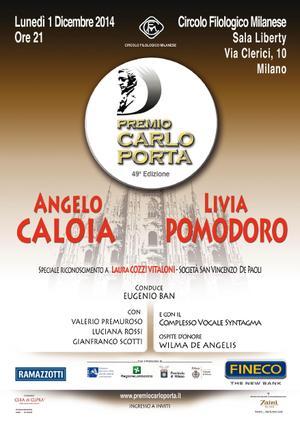 49°  EDIZIONE PREMIO CARLO PORTA