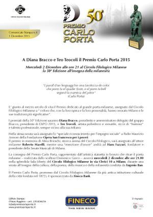 Premio Carlo Porta - 50° edizione